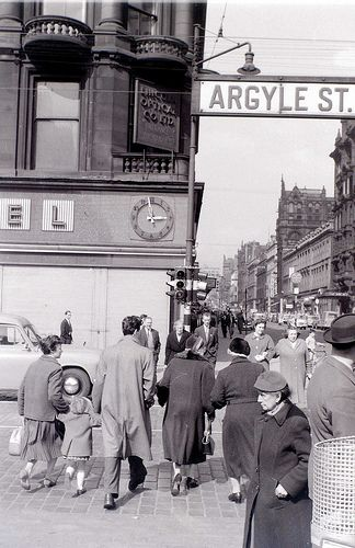 Glasgow, 19 April 1960 by allhails, via Flickr