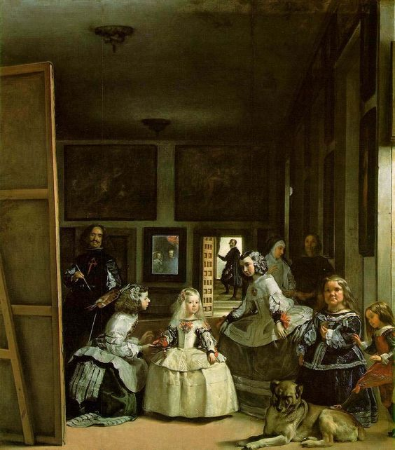 Las Meninas- Velázquez. One of the most widely analysed works in Western painting. And rightly so.