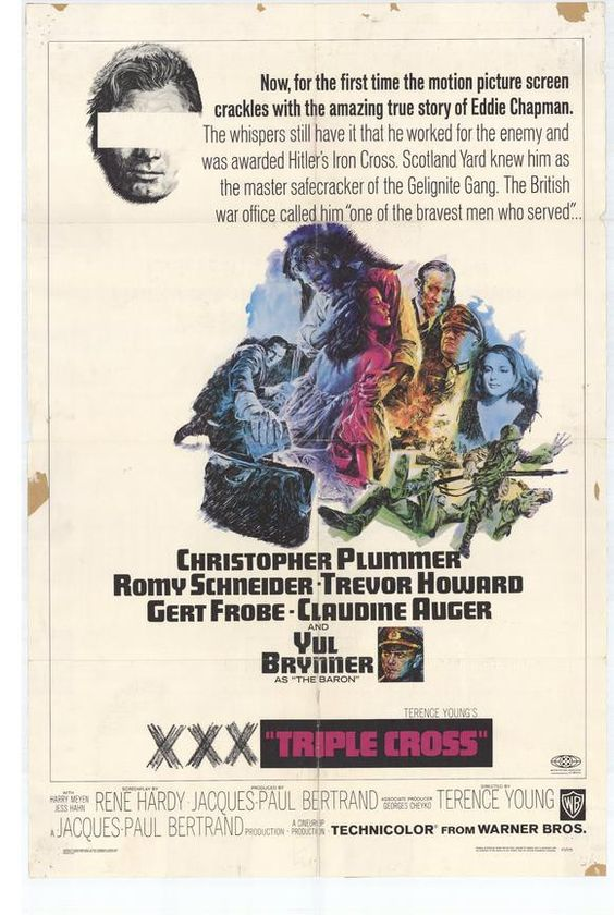 Triple Cross (1966) - Christopher Plummer DVD