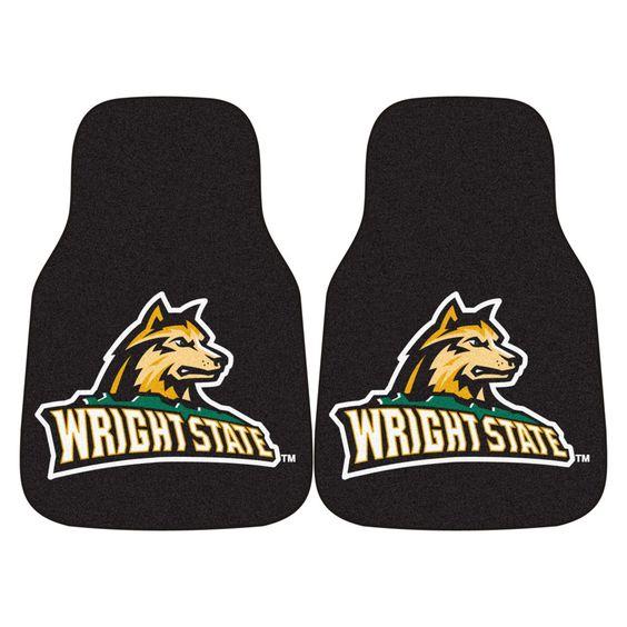 Wright State Raiders Green Carpet Floor Mats