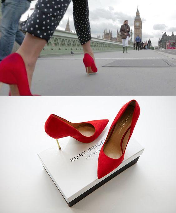 Kurt Geiger's Kurt Geiger's Rebecca Farrar-Hockley on Holiday Shoes
