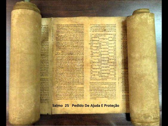 Salmo 25 - Oração do  Pedido de ajuda e proteção - A Biblia Narrada por Cid Moreira