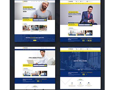 "Check out new work on my @Behance portfolio: ""Monex - Money Exchange & Finance Business WordPress The""…"
