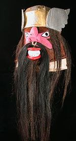 Mexico Mask - Yaqui mask