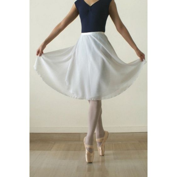 Long Ballet Wrap Skirt ($29) ❤ liked on Polyvore featuring skirts, sheer maxi…