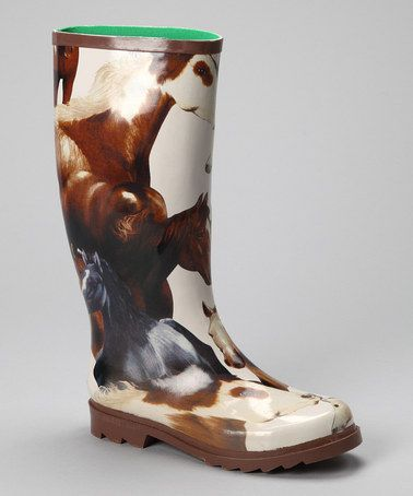 Take a look at this Mustang Rain Boot - Women by Smoky Mountain Boots on #zulily today! Only 15.99 in Women Sizes....