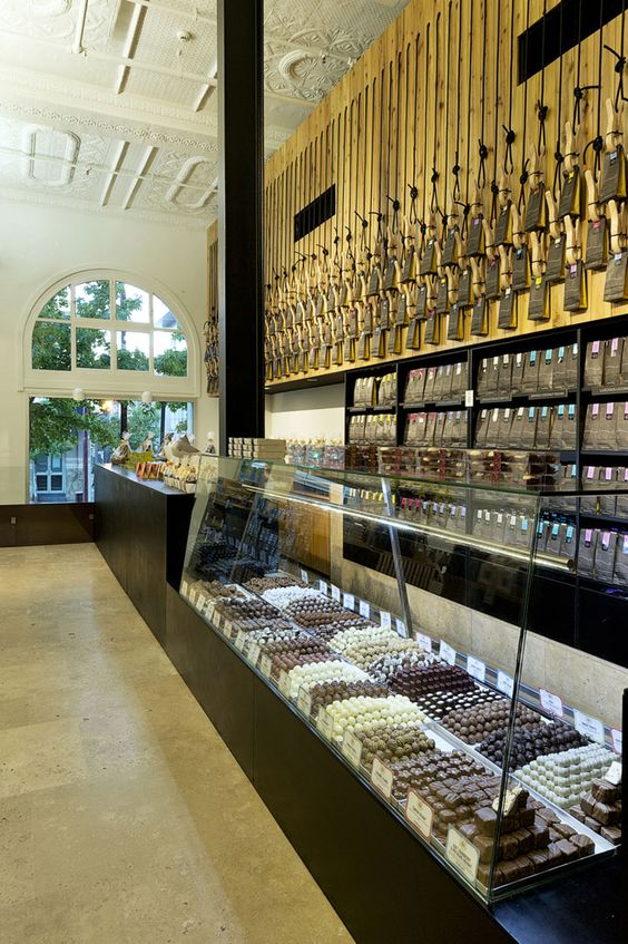 Margaret River Chocolate Company & Providore by Paul Burnham Architect, Perth store design