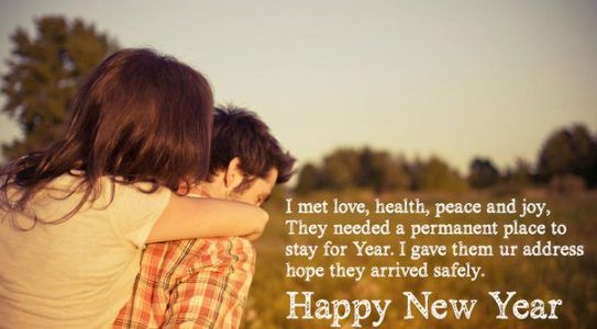 Cute Happy New Year Message for bf | Happy new year message, New year  wishes, Happy new year wishes