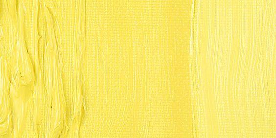 Cadmium Yellow Lemon, such a soft cadmium #paint http://www.supremepaint.co.uk/collections/michael-harding/products/cadmium-yellow-lemon