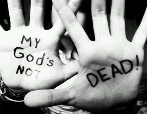 My Faith lies with him...
