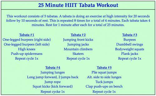 Tough workout...
