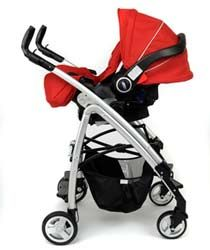 Poussette Graco FUSIO. Cosy LOGICO S HP DELUXE rouge