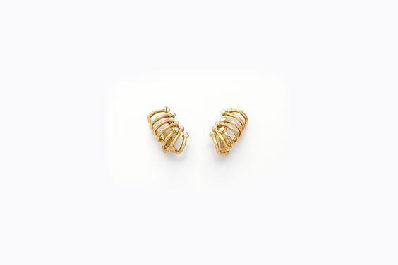 """diorific"" earrings by Dior"