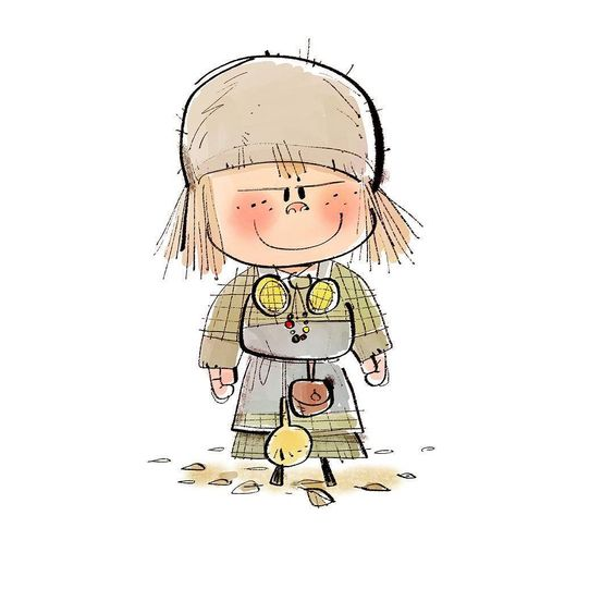 Viking baby #characterdesign #drawing #doodle#sketch #illust #캐릭터디자인 #그림#낙서 by we_sunsang