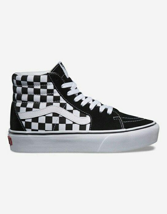 Vans checkers tennis shoes are so