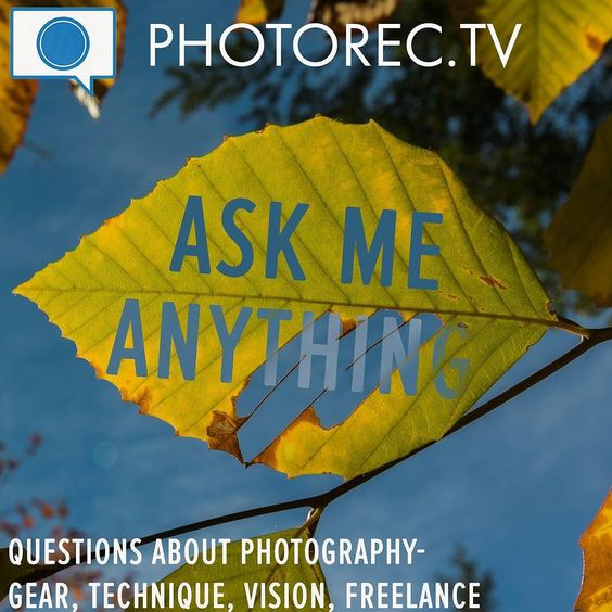 It's time for a #ASKPRTV video - You have questions... I have answers . . . Leave your questions in a comment below or visit http://photorec.tv/ask Photography questions about gear vision creativity technique business travel - what do you want to know?