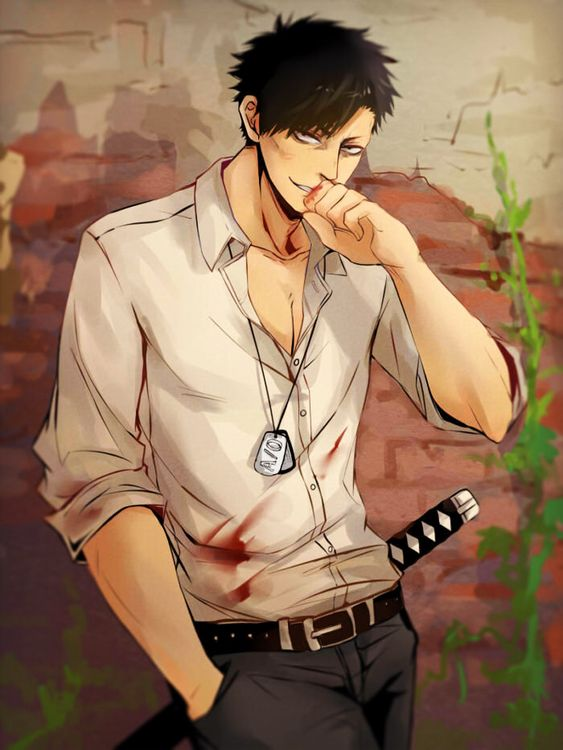 story-kat: Nicolas Brown Art by FTPandaPosted with Permission: