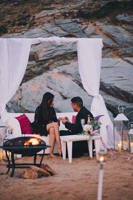 Watergate Bay marriage proposal