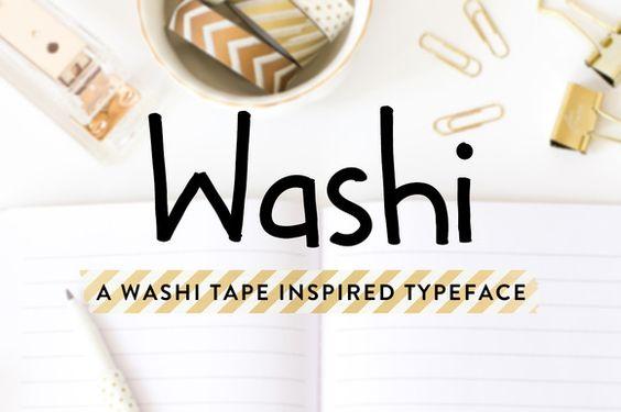 Washi by jillian.adriana on @creativemarket