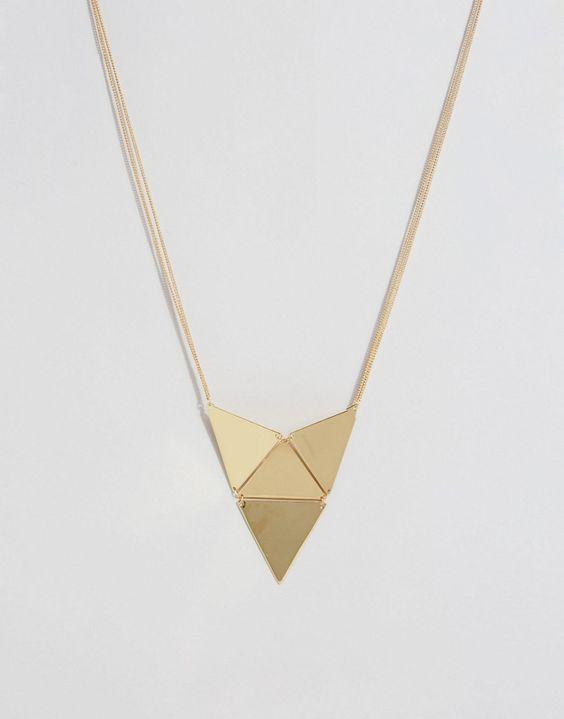 Immagine 1 di Pieces - Bali - Collana a triangolo