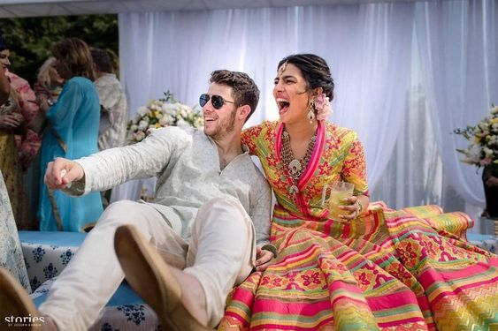 Priyanka Chopra and Nick Jonas Share Colorful Mehendi Ceremony Photos Following Their Wedding