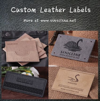 While the traditional woven labels and printed labels are still in the highest demand, many are turning to leather and synthetic leatherette patches for branding purposes. Well-design leather labels will make your items stand out from your competition. #leatherlabel #branding #clothinglabels