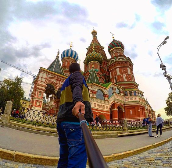 The Saint Basil's Cathedral at the Red Square in Moscow, Russia. Amazing architecture. Pic by @ihabkhalid. #GoPro #moscow #russia #city #redsquare #cathedral #travel #wanderlust