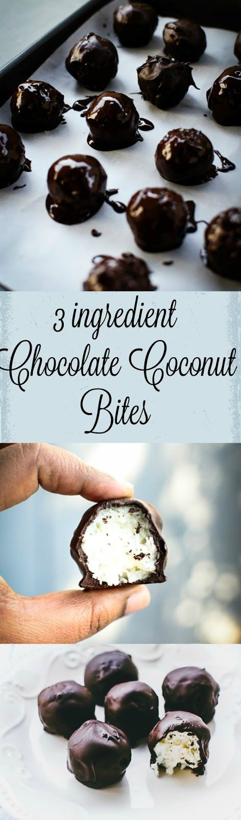 Chocolate Coconut Balls Recipe | Forks N Knives | Bloglovin'