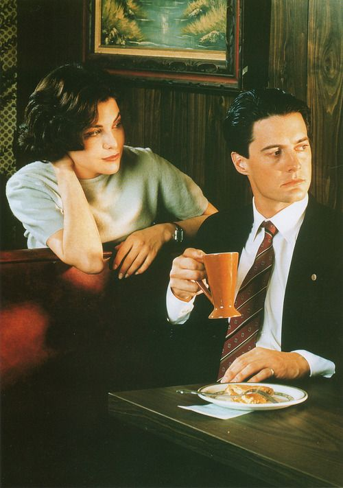 I still crush hard on agent Dale Cooper from Twin Peaks! <3