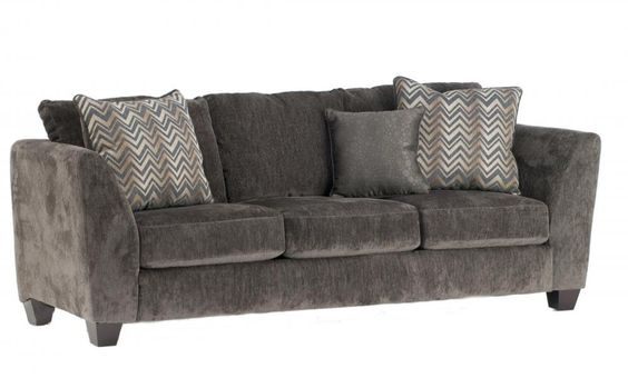 Pin by laura on split level living pinterest charcoal for Allison recliner sectional sofa by albany industries