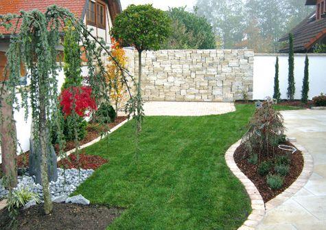 terrassentrennwand für das doppelhaus und reihenhaus | grüne oase, Terrassen ideen