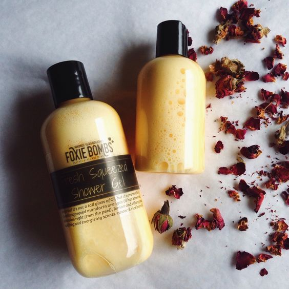 Foxie Bombs | Fresh Squeezed shower gel