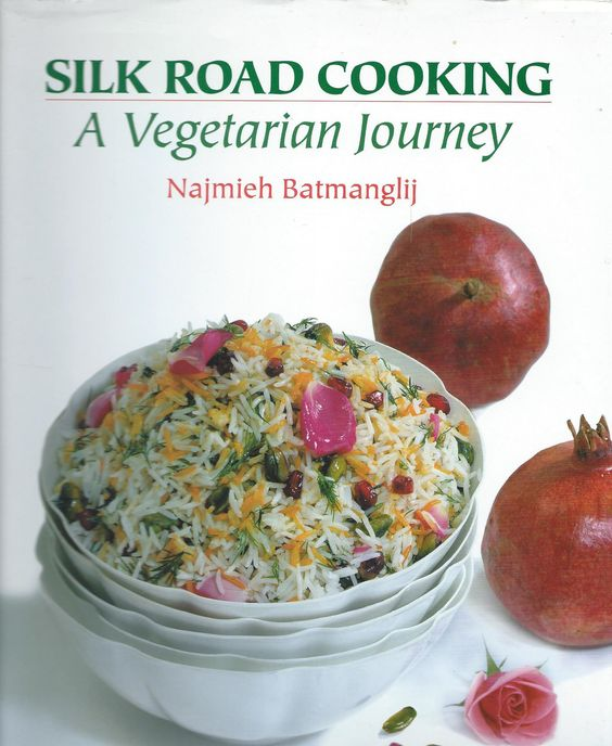Trekking the Silk Road Travels with Najmieh Batmanglij, born & raised in Iran with Masters Degrees in the U.S. & France...  This board is a Journey of the utmost joy & know-how for vegetarian cooking cuisine.... Delightful!  Trust me,  Cookie  :)