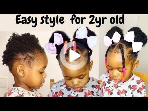 Pin On Kids Hairstyles Black Toddler Girl Hairstyles Kids Hairstyles Girls Black Baby Girl Hairstyles