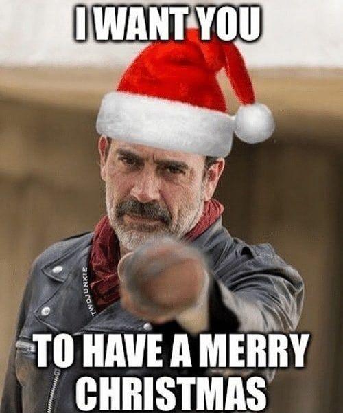 Merry Christmas Everyone Thewalkingdead Walkingdead Twd Thewalkingdead Twd Walkingdead Amc Worldofwa The Walking Dead Twd Memes Walking Dead Funny