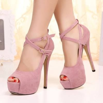 Soft Pink High Heels | Tsaa Heel