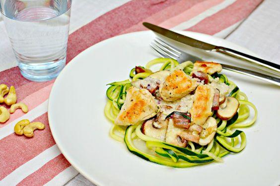 Ich bin ja ein großer Fan von Italien. Land, Leute und natürlich das Essen begeistern mich so sehr, dass ich jedes Jahr wenigstens einmal nach Italien fliegen muss. Früher habe ich viel Pasta gegessen. Jetzt mit meiner Paleo-Ernährung ist das jedoch absolut tabu. So habe ich heute für dich eine Mehl-freie Variante mit Zucchini-Nudeln, die […]