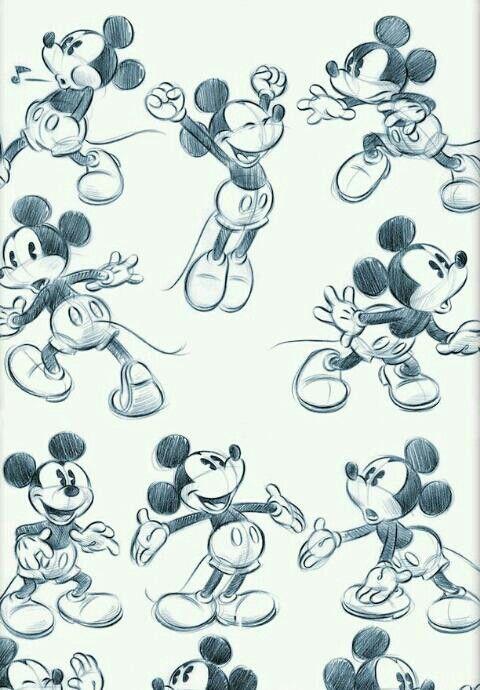 いろんな動きとミッキーマウス