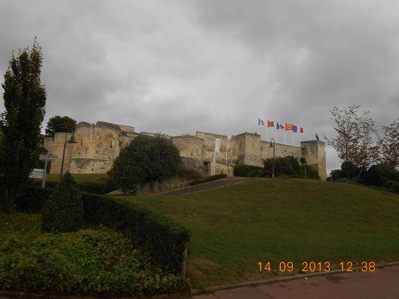 Caen castle, France