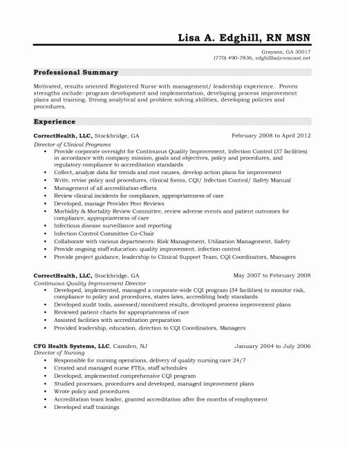 25 Graduate Nurse Resume Template In 2020 With Images Nursing