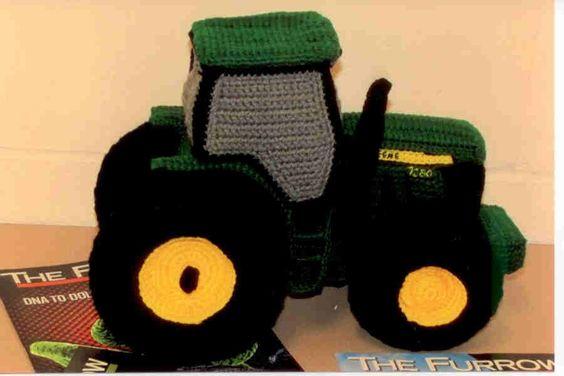 John Deere Tractor stuffie Haken amigurumi Pinterest ...