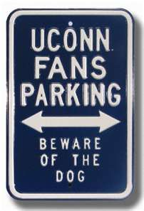 Connecticut UConn Huskies Authentic Parking Sign: others cheap from ...