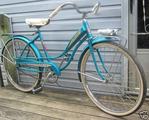 Columbia Thunderbolt Woman S Vintage Beach Cruiser Bicycle 1960