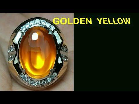 Batu Akik Raflesia Cat Eye Warna Golden Yellow Supreme Youtube Di 2020 Batu Akik Batu Berlian