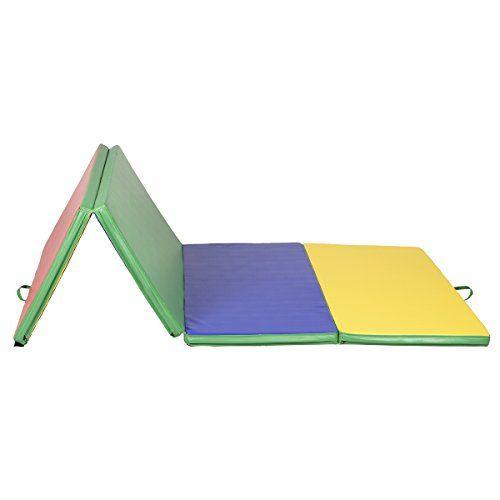 "Giantex 4'x8'x2"" PU Gym Folding Panel..."