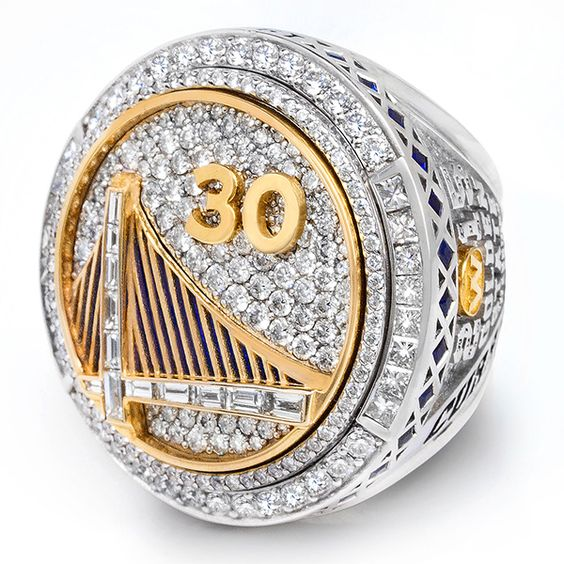 2015 Golden State Warriors Basketball World Championship ring
