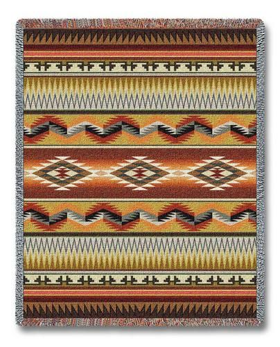 Apache Blanket Earth Tapestry Throw Throws And Pillows