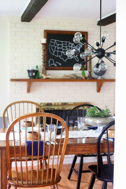 5 Decorating Tips in a Modern Farmhouse Style Dining Room Makeover // Neutral Color Scheme // by Craftivity Designs