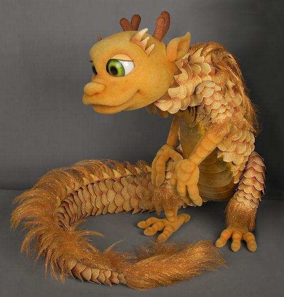 JinJin the dragon by Puppet Heap