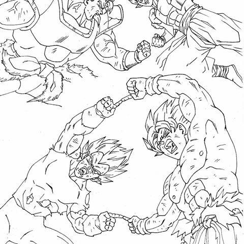 Dibuj9s De Dragon Ball Super Gogeta Vs Broly Para Colorear Buscar Con Google Dragones Dibujo De Goku Dragon Ball